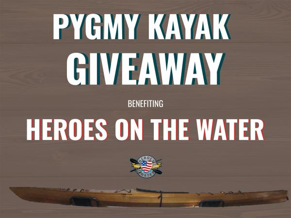 Some good fortune was bestowed upon us and we are hoping to pay that forward supporting a good cause. See how you can take home aPygmy Boats Inc: Wooden Kayak and Canoe KitsCoho while supportingHeroes on the Waterby visitinghttps://bit.ly/2LnvYV9.#GearUpHeadOut#SupportOurVeterans#ThankYou