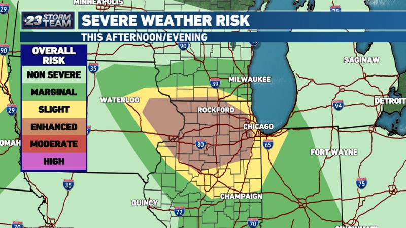 Watch the skies today and be safe. A severe storm is coming in. If you have a leak, we have our 24 hour emergency response team. If you suffer any damage, or would just like to make sure you do not have any damage, give us a call 815-637-8992 or send us a message. We will conduct a FREE inspection.#staysafe#hirelocal