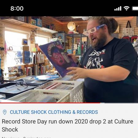 <Click the link below> Watch our RSD Edition Vinyl Happy Hour YouTube video to see everything we will have available for Record Store Day this Sat Sept 26th at 8am! Go check it out. https://youtu.be/GGlVqqMV1rY