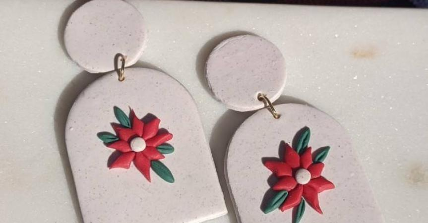 One of my best friends makes and sells homemade jewelry. It's unique and so pretty! Not only would you be supporting local but these would make great gifts! https://etsy.me/2IQNG5h