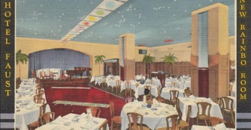 Opening Night of the Rainbo Room was the spot to be on April 21,1935. Follow this link to RPL's Local History database. Read more about the floor show featuring magic by Johnny Jones, eight dancing girls, a dance team, and Al Kvale's NBC broadcast band!https://history.rockfordpubliclibrary.org/localhistory/