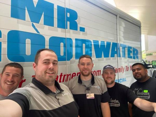 The Mr. Goodwater boys setting up Swedish American with some Goodwater